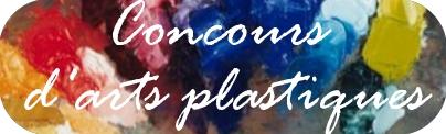 Concours arts plastiques
