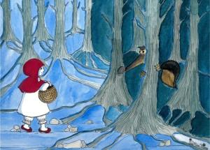 Atelier enfant-Salon du Livre 2019-Musée du Loup-petit chaperon rouge