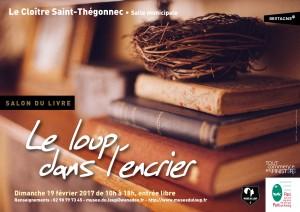 Affiche Salon du Livre 2017-Musée du Loup-001