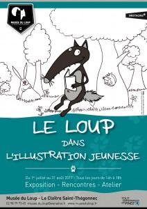 Affiche saison 2017 Musée du Loup