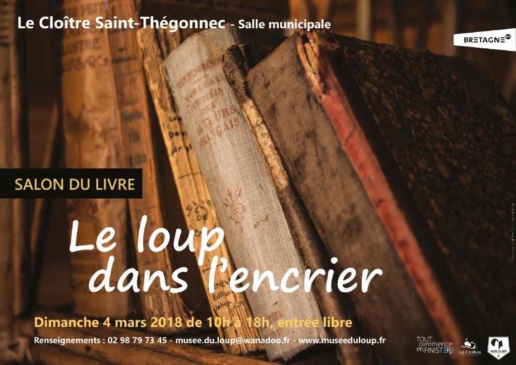 Affiche Salon du Livre 2018-Musée du Loup-Ima