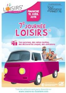 AFFICHE JOURNEE DES LOISIRS 2018