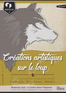 """Exposition """"Créations artistiques sur le loup"""""""