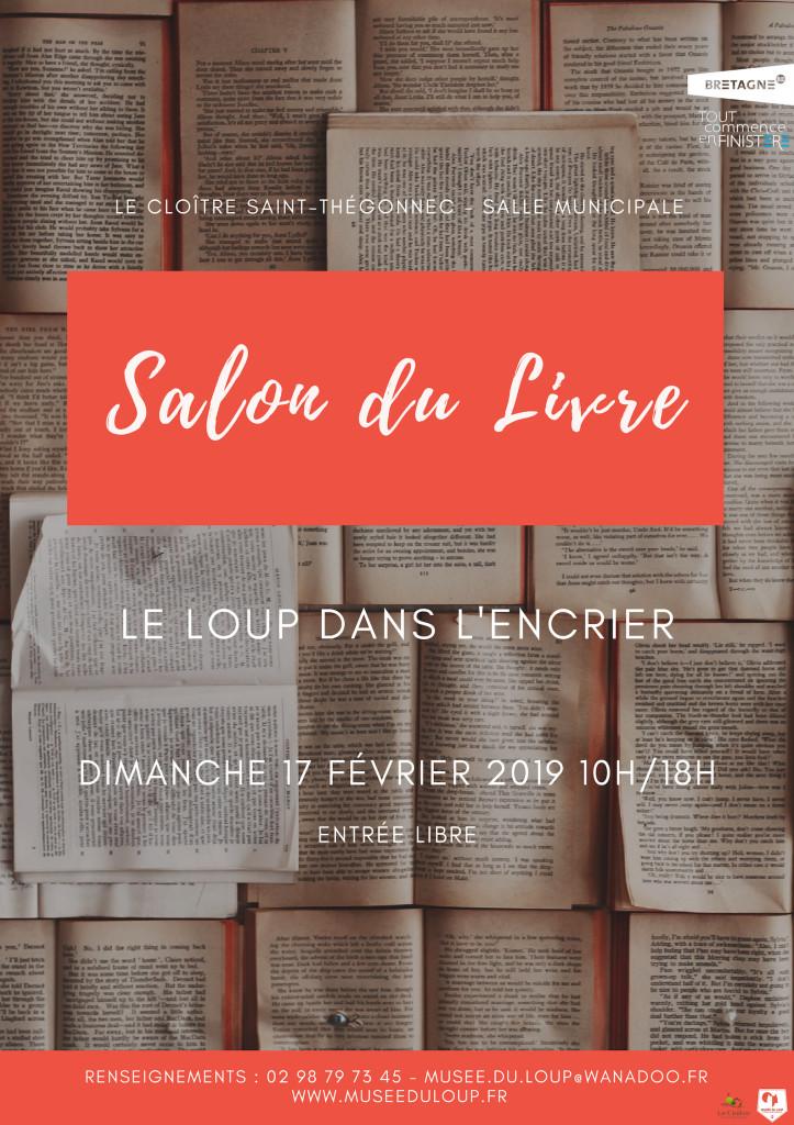 Affiche Salon du Livre 2019-Musée du Loup BQ