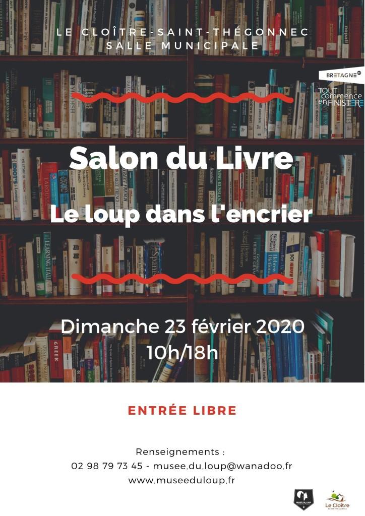 Affiche Salon du Livre 2020 (1)