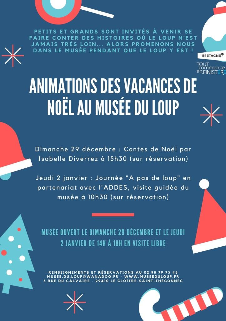 Animations des vacances de Noël (1)