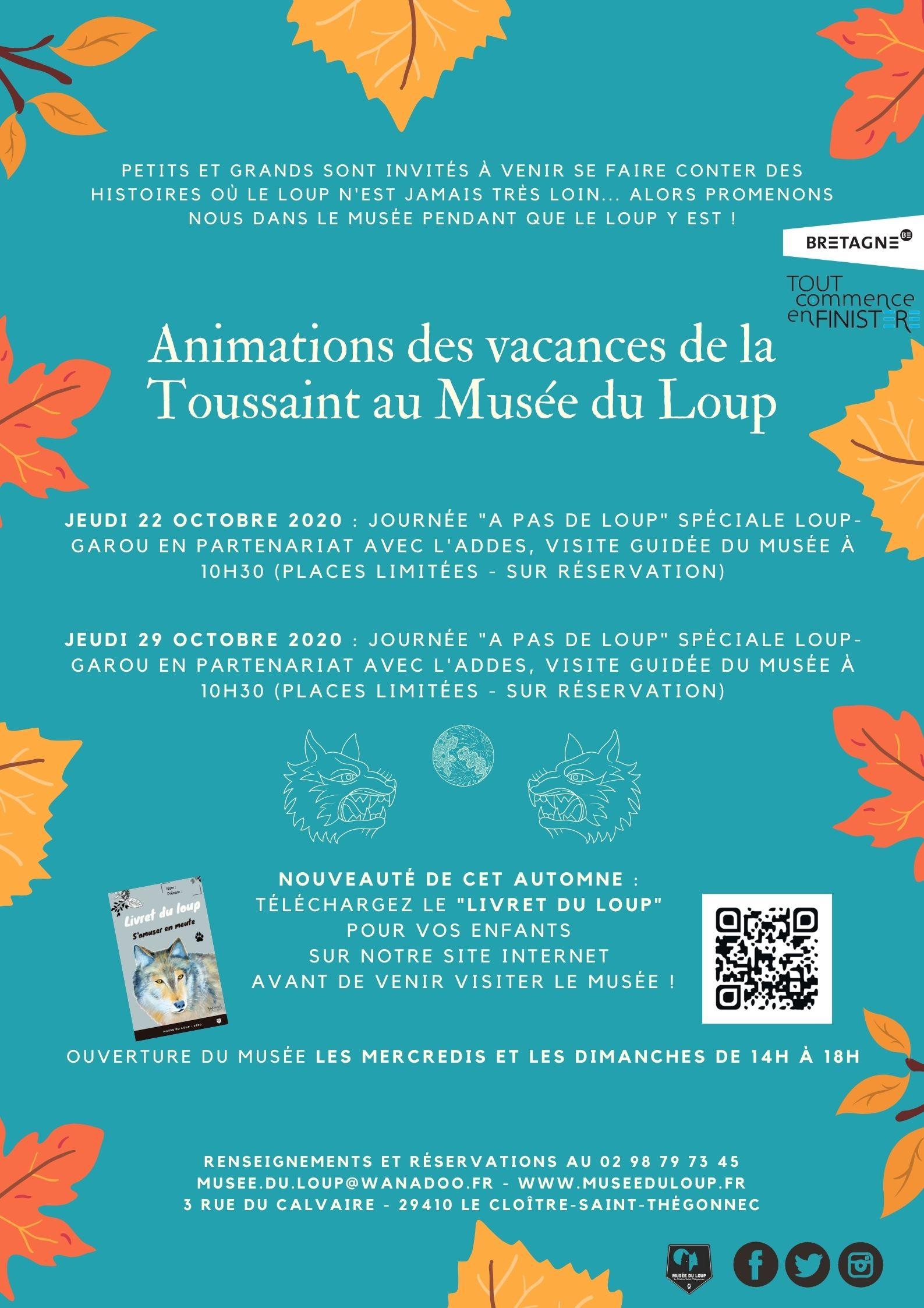 Animations des vacances de la Toussaint 2020 au Musée du Loup (3)
